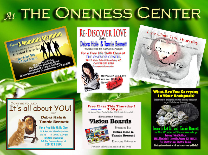At The Oneness Center